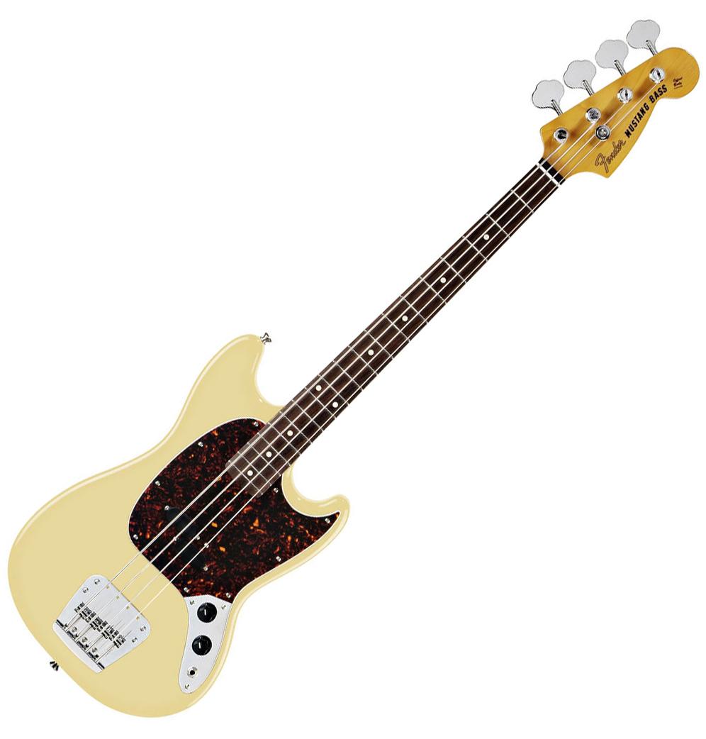 Fender Mustang Bass - Vintage White | AltoMusic.com  Fender Mustang ...