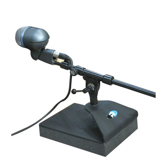 primacoustic kickstand bass drum microphone stand. Black Bedroom Furniture Sets. Home Design Ideas