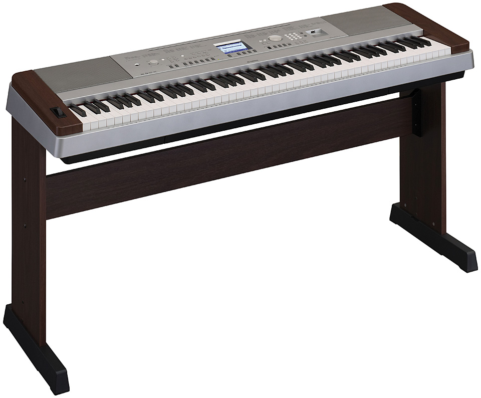 yamaha dgx 640w portable grand piano keyboard with 88 we. Black Bedroom Furniture Sets. Home Design Ideas