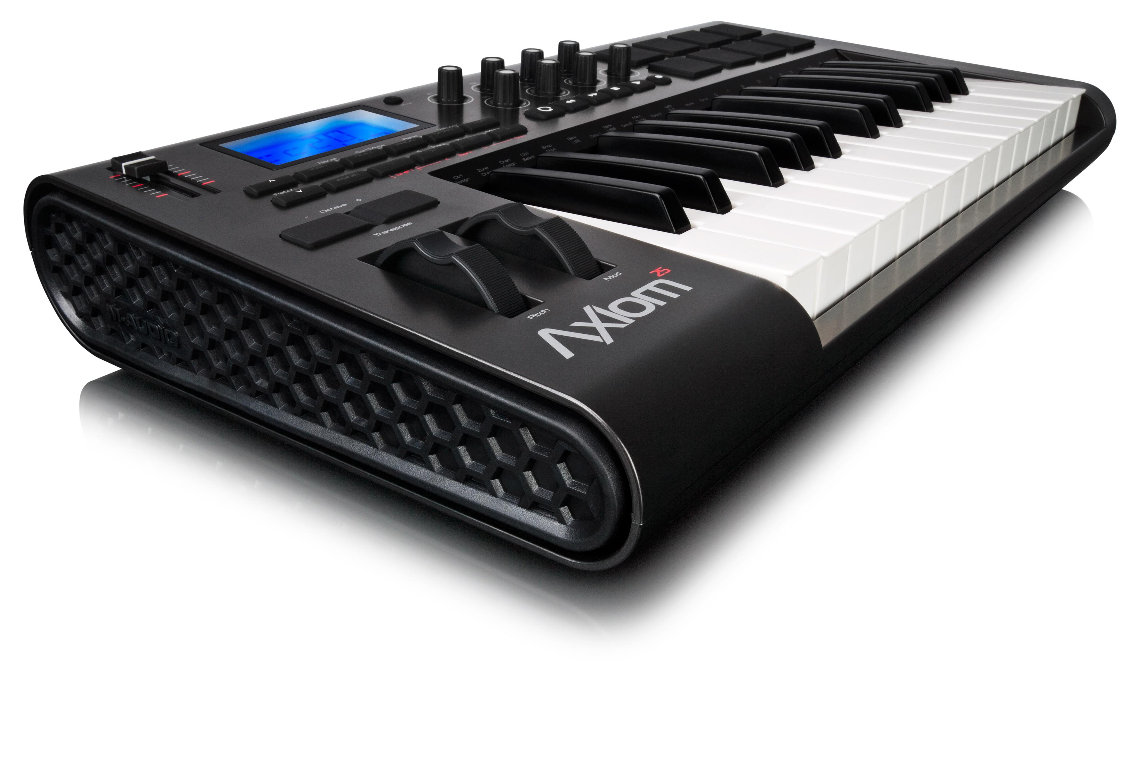 M Audio Axiom 25 Midi Keyboard - 25 Key Midi Keyboard from ...