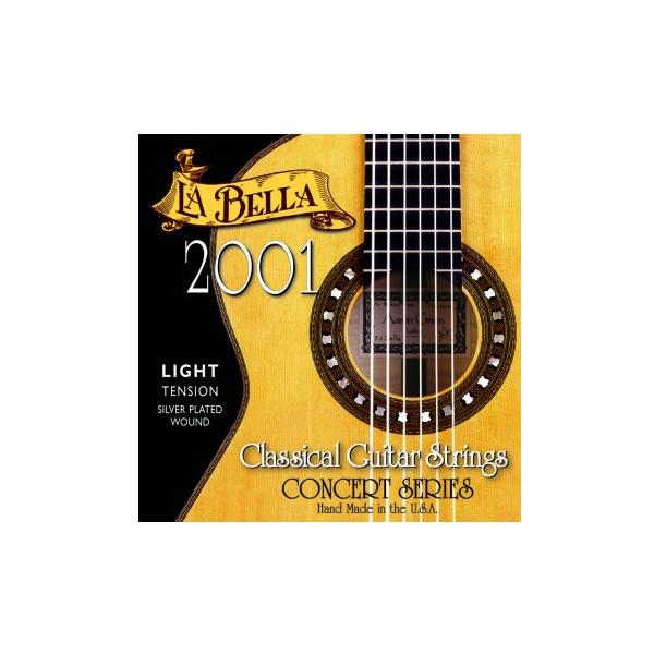 la bella 2001 light tension classical guitar strings. Black Bedroom Furniture Sets. Home Design Ideas