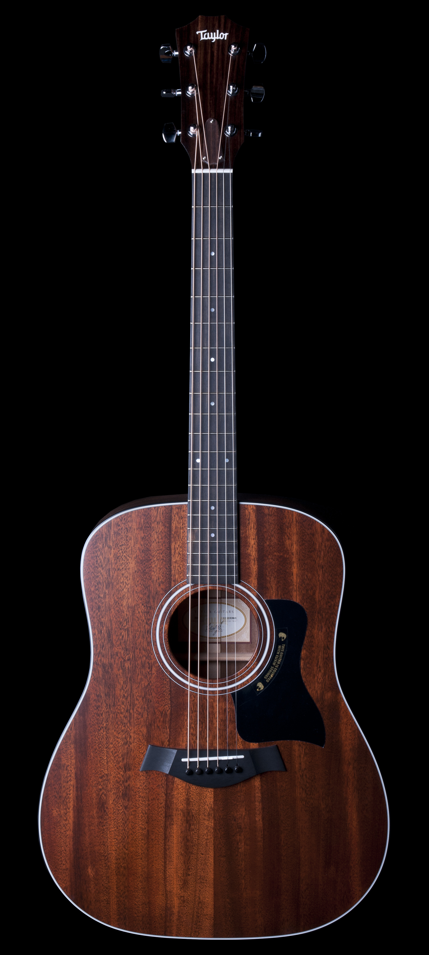 taylor 320 dreadnought acoustic guitar with tropical mahogany top ebay. Black Bedroom Furniture Sets. Home Design Ideas