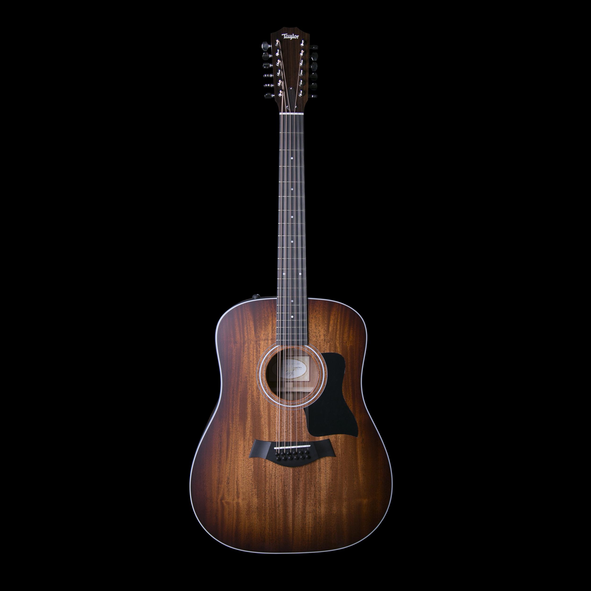 taylor 360e 12 string dreadnought guitar w es2 system shaded edgeburst w case ebay. Black Bedroom Furniture Sets. Home Design Ideas