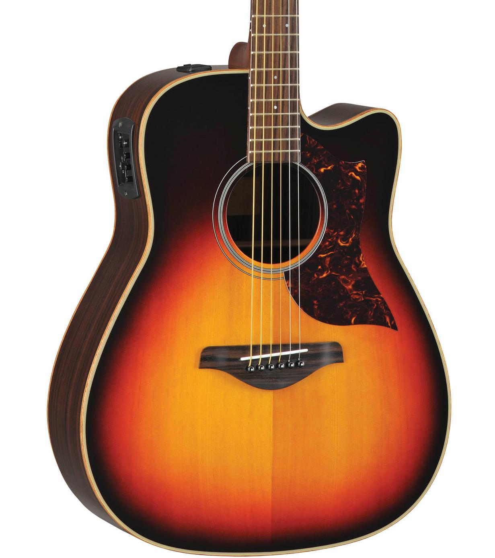 yamaha a1rvshc folk acoustic electric guitar vintage sun. Black Bedroom Furniture Sets. Home Design Ideas