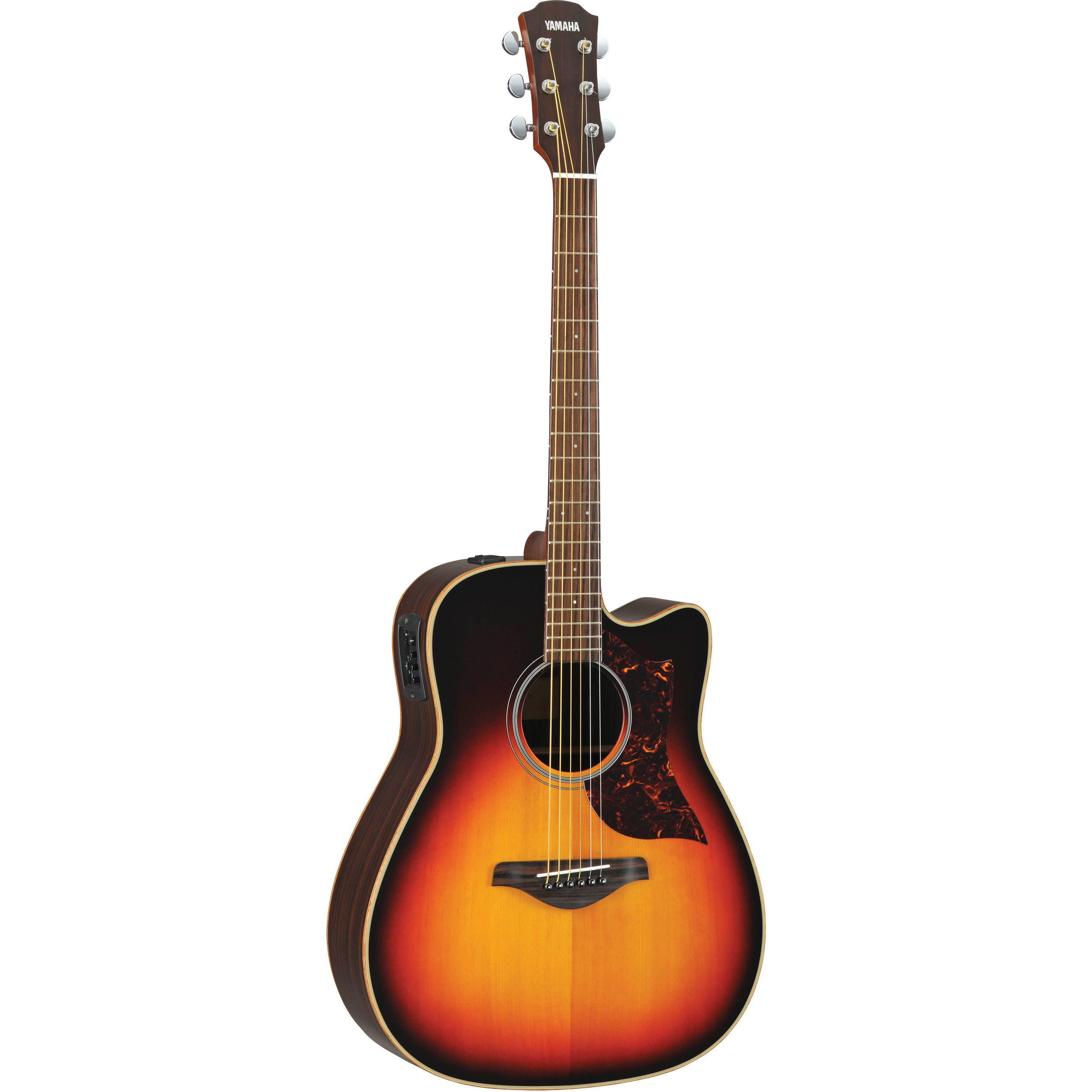 Yamaha a1rvshc folk acoustic electric guitar vintage sun for Yamaha acoustic bass guitar