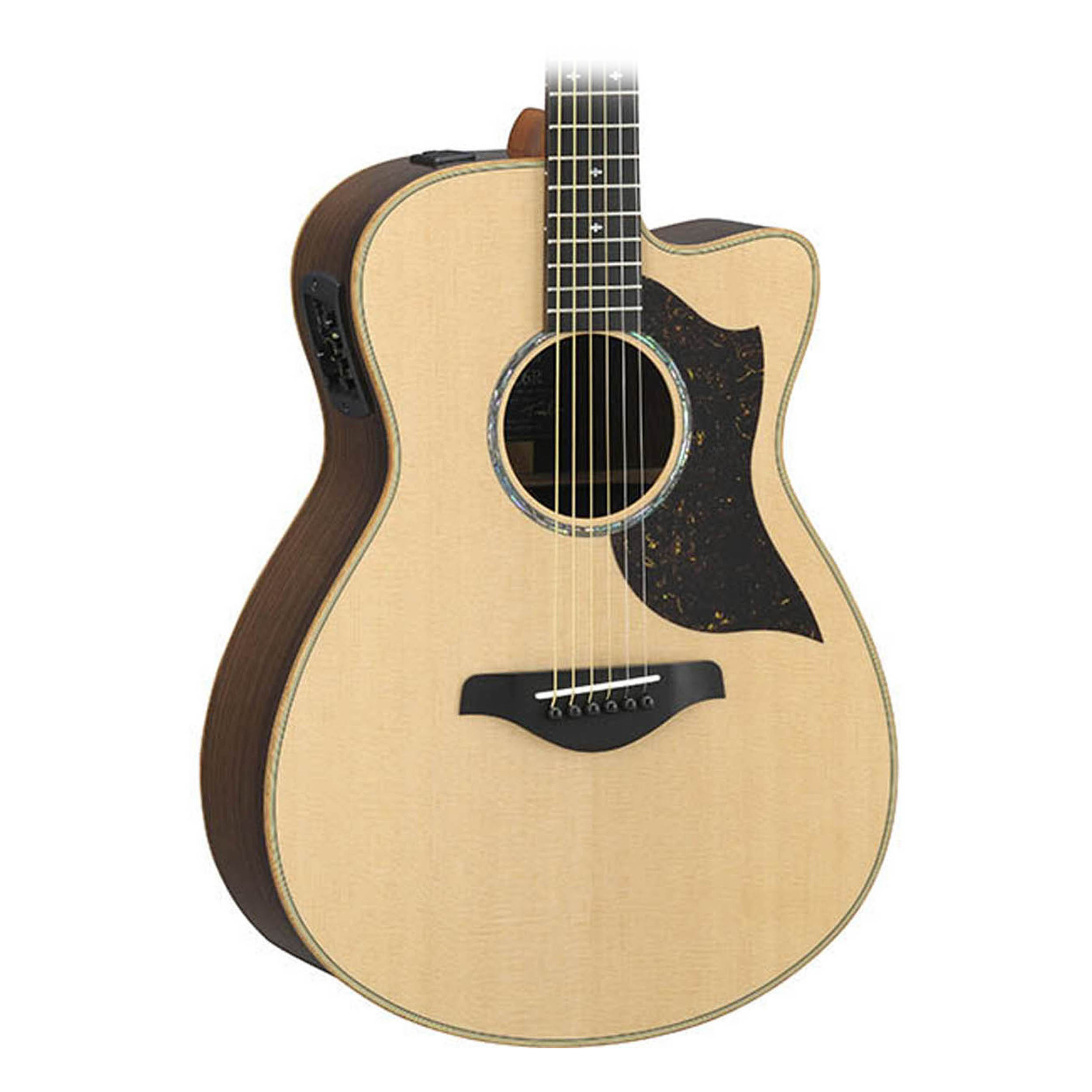 Yamaha ac6r handcrafted series limited edition acoustic for Yamaha acoustic electric guitar