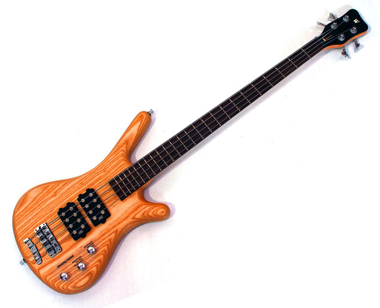 Warwick Corvette Double Buck 4 String Bass In Honey Oil