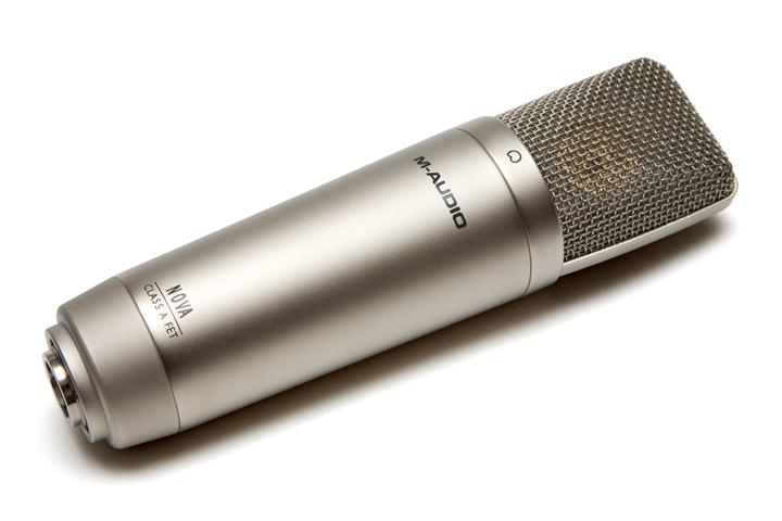 m audio nova entry level large capsule condenser microphone. Black Bedroom Furniture Sets. Home Design Ideas
