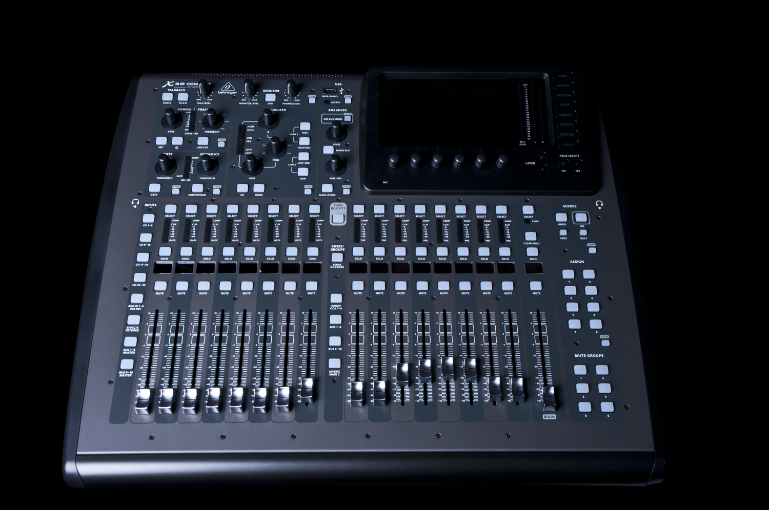 behringer x32 digital mixer car interior design. Black Bedroom Furniture Sets. Home Design Ideas