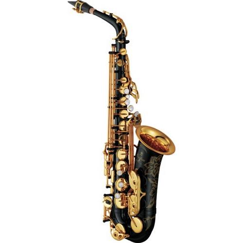 Home yamaha yas82ziib custom professional alto saxophone in black