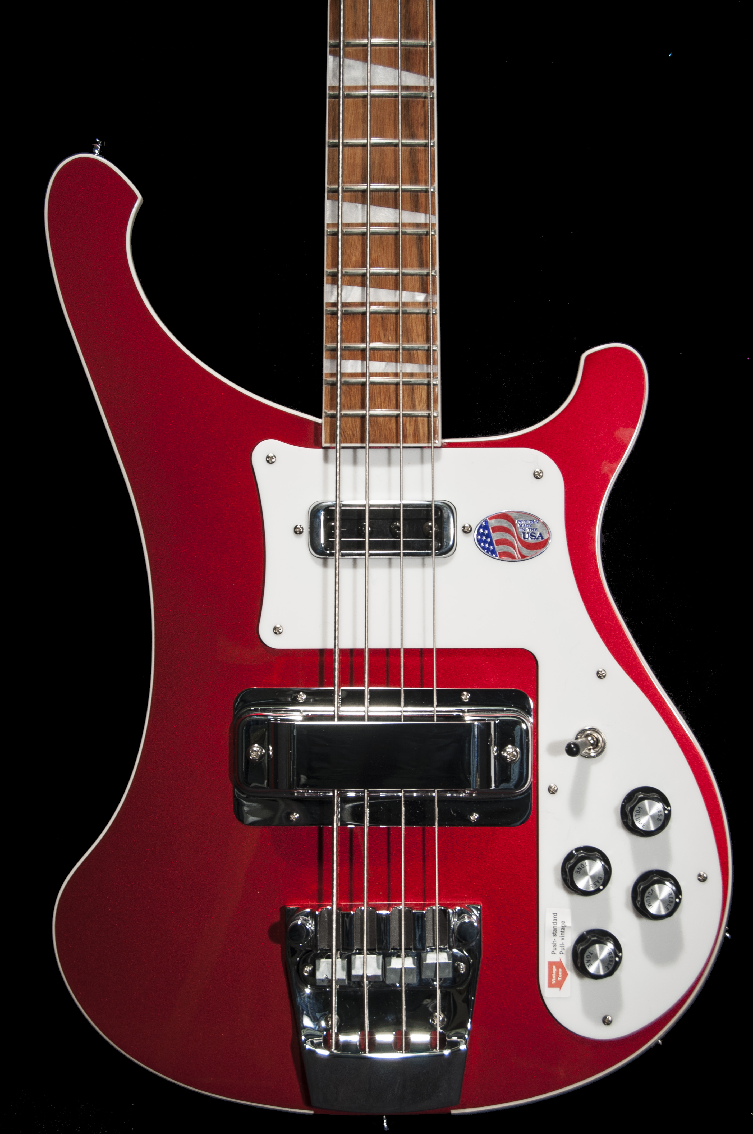 rickenbacker 4003 bass guitar in ruby red. Black Bedroom Furniture Sets. Home Design Ideas
