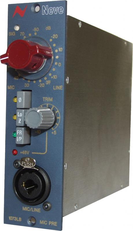 AMS Neve 1073LB 500-Series Lunch Box Mic PreAMS Neve 1073LB 500-Series Lunch Box Mic Pre