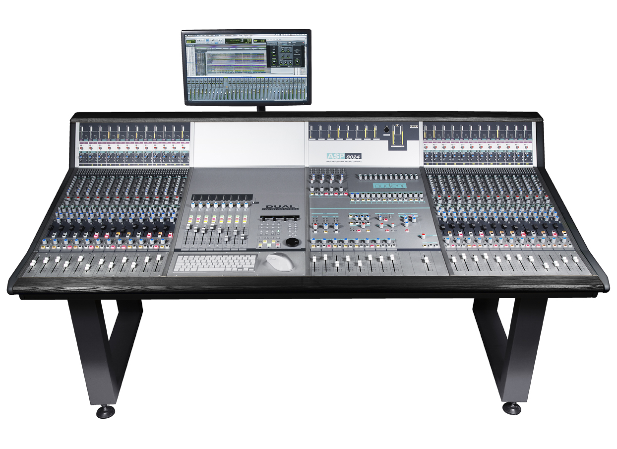 Audient asp8024 large format recording console for What is console