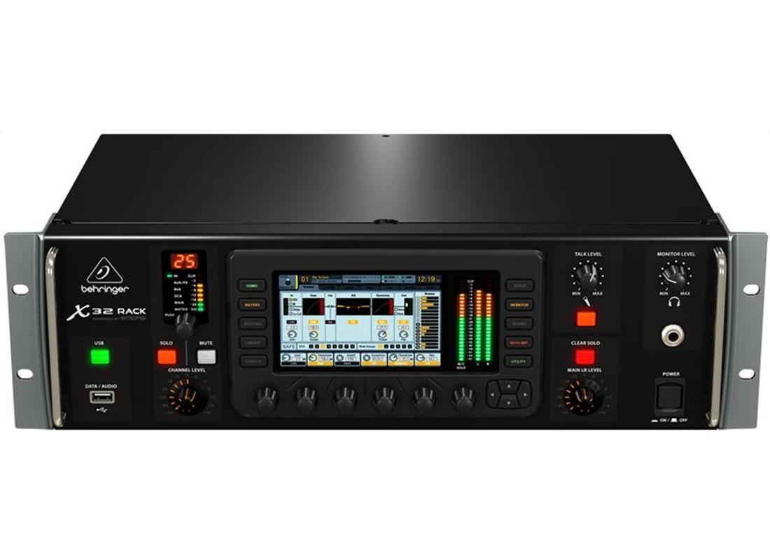 Behringer X32 Rack 40 Input Channel 25 Bus Digital Rack