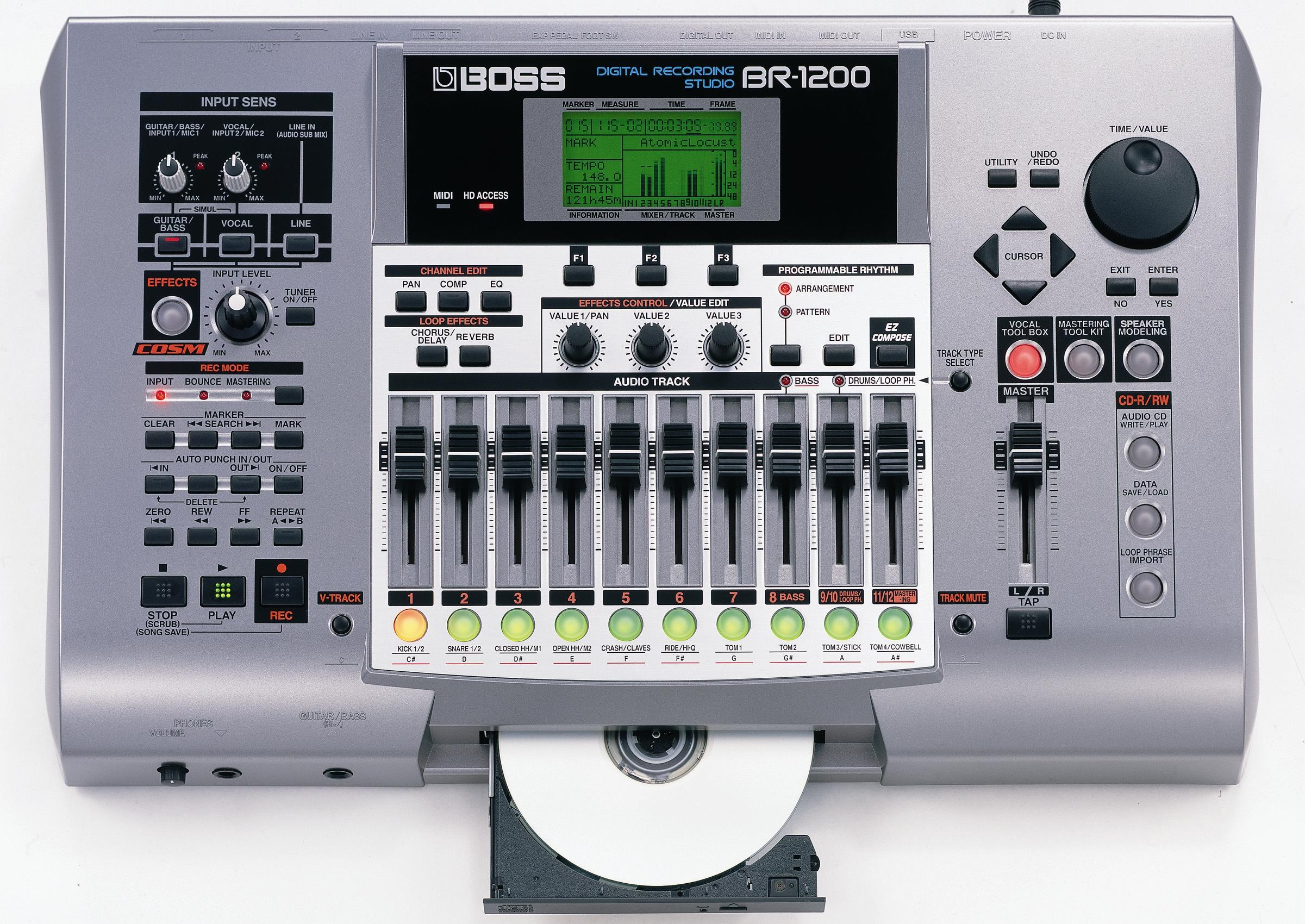 boss digital studio br 532 manual