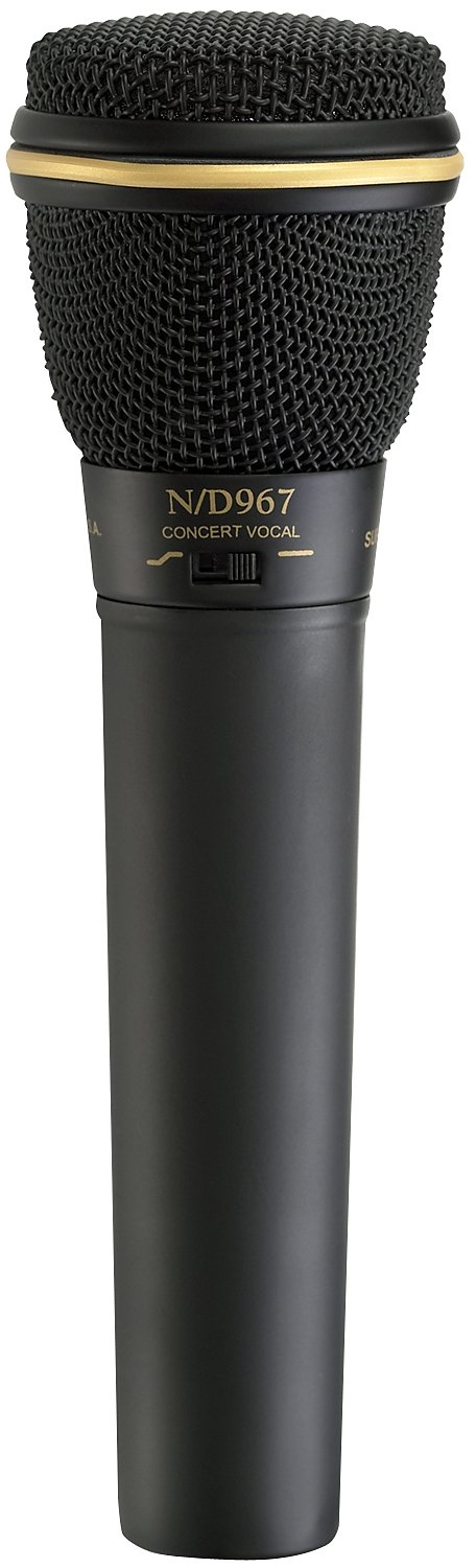 electro voice n d967 dynamic supercardioid vocal microphone. Black Bedroom Furniture Sets. Home Design Ideas