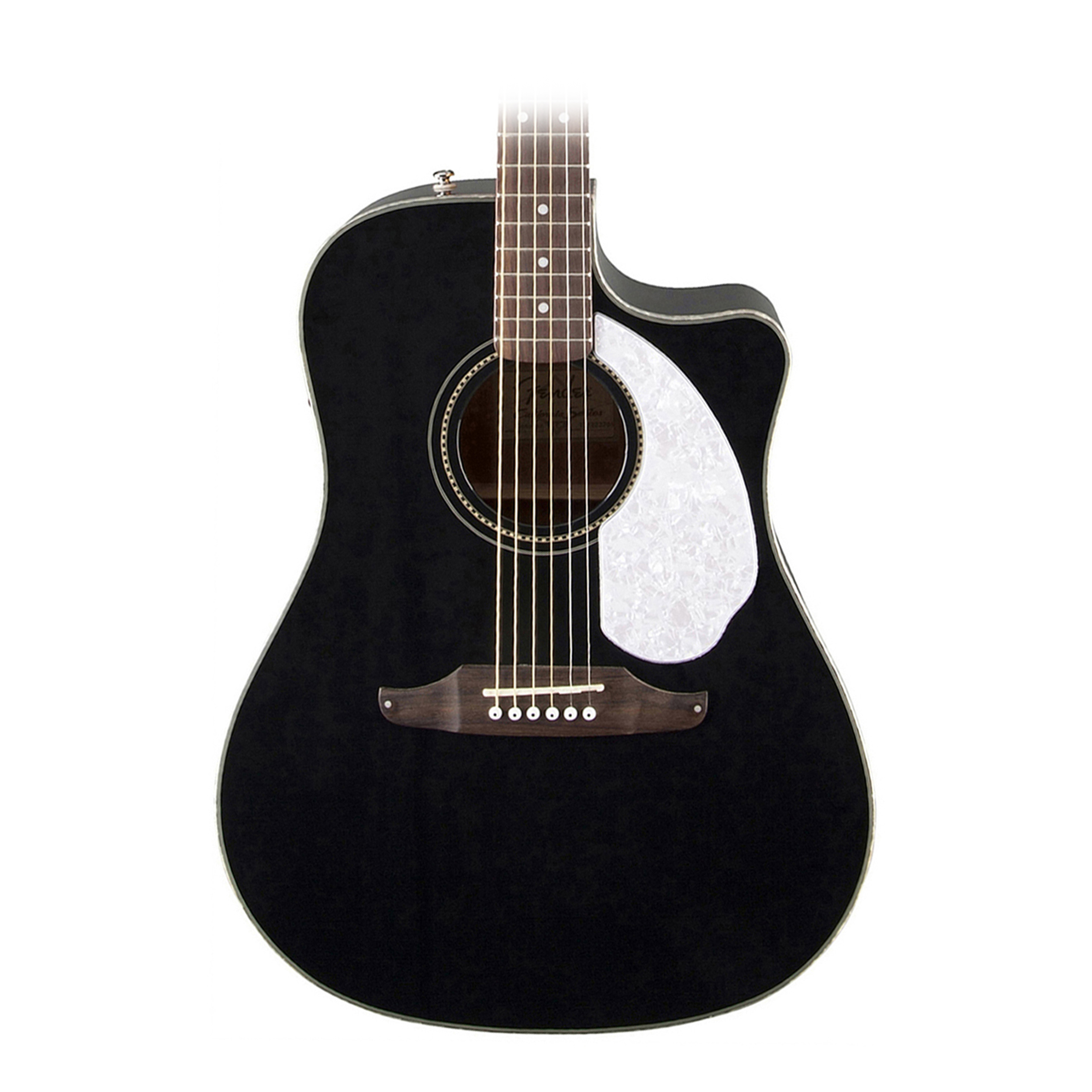 fender sonoran sce acoustic electric guitar in black. Black Bedroom Furniture Sets. Home Design Ideas
