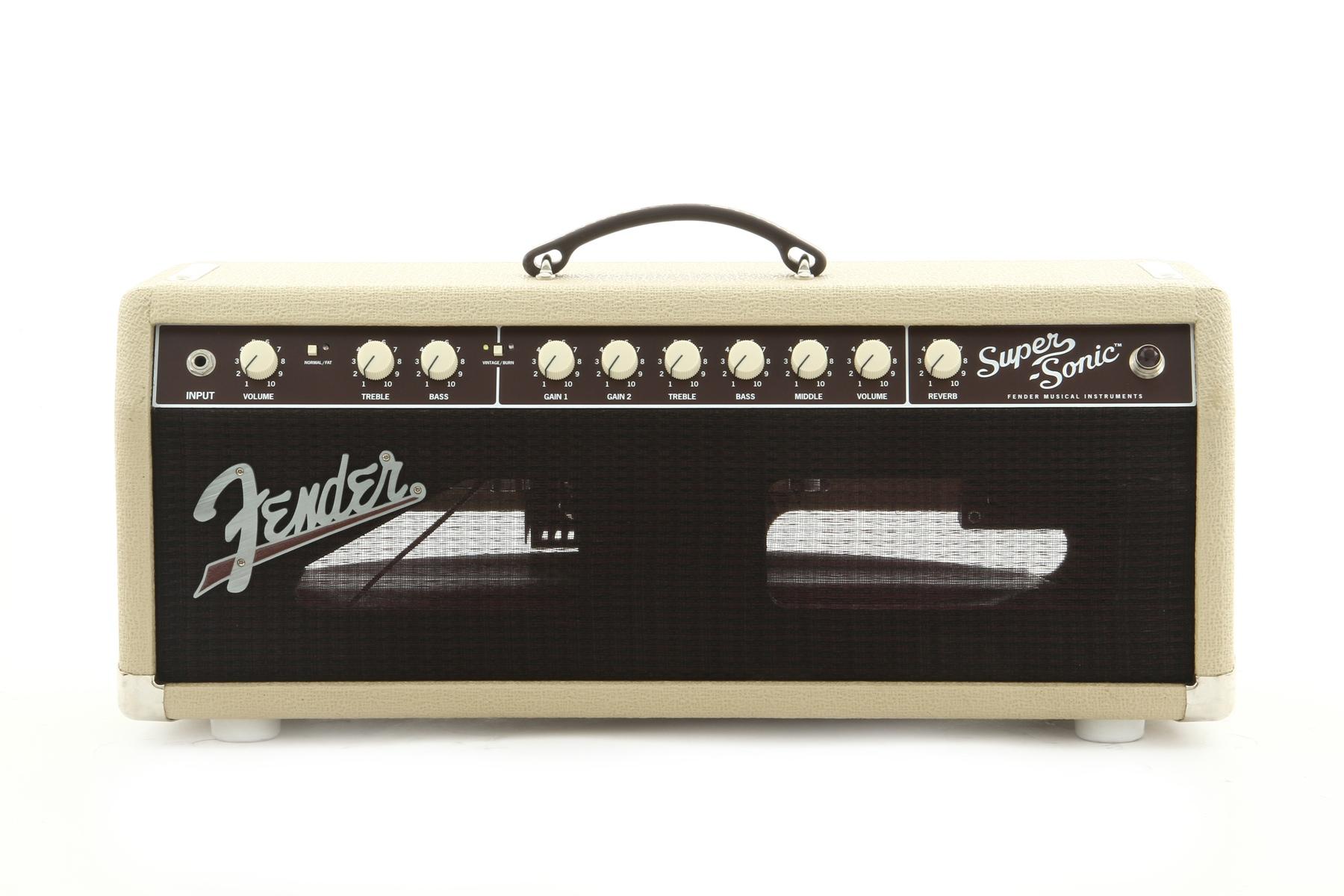 Fender Supersonic Head : fender super sonic 22 guitar amplifier head in blonde ebay ~ Vivirlamusica.com Haus und Dekorationen
