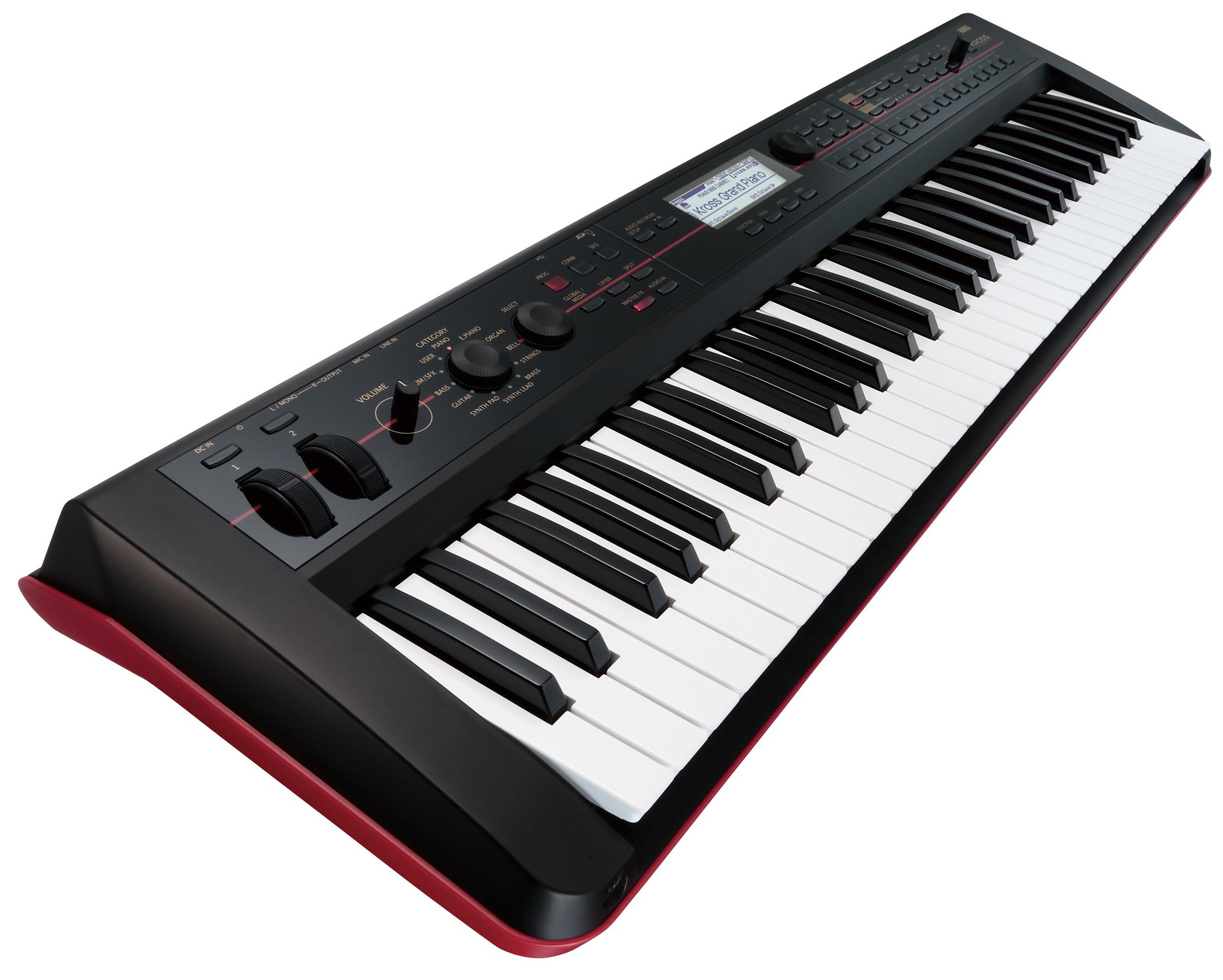 korg kross61 kross 61 synthesizer workstation keyboard 61 note key sequencer ebay. Black Bedroom Furniture Sets. Home Design Ideas