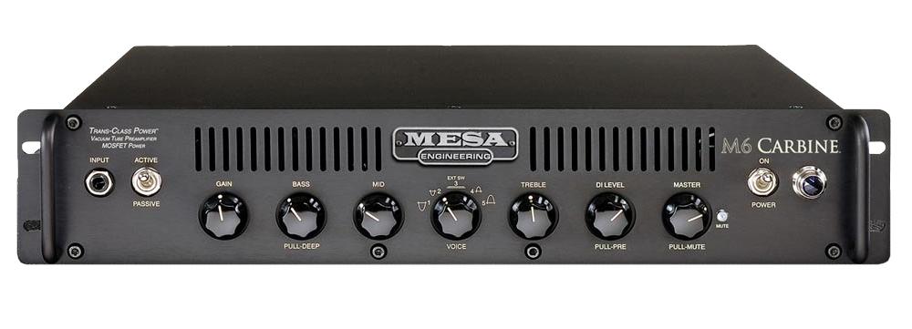 mesa boogie m6 carbine 600w rackmount bass head. Black Bedroom Furniture Sets. Home Design Ideas