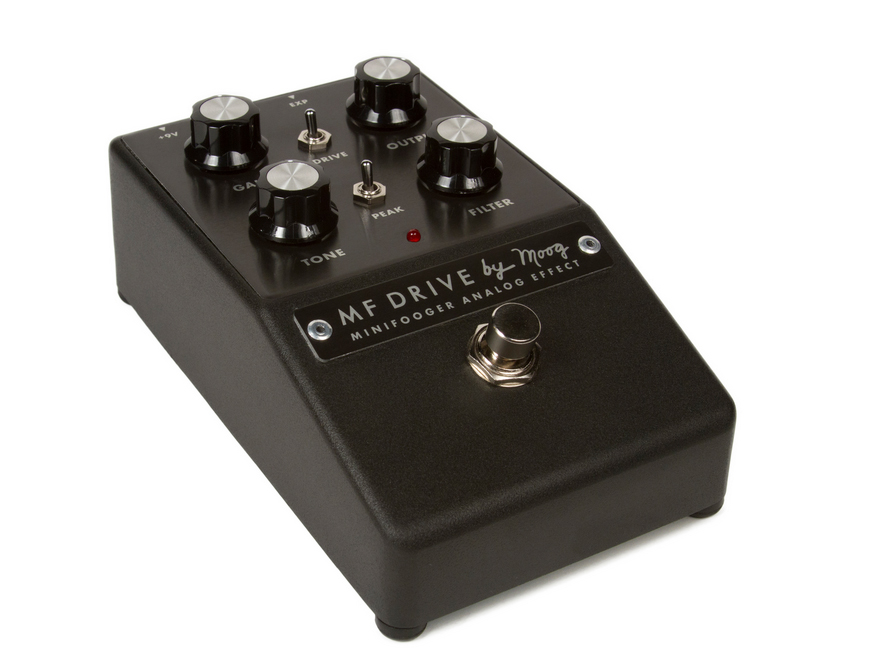 moog mfsdrive01 minifooger drive guitar pedal. Black Bedroom Furniture Sets. Home Design Ideas