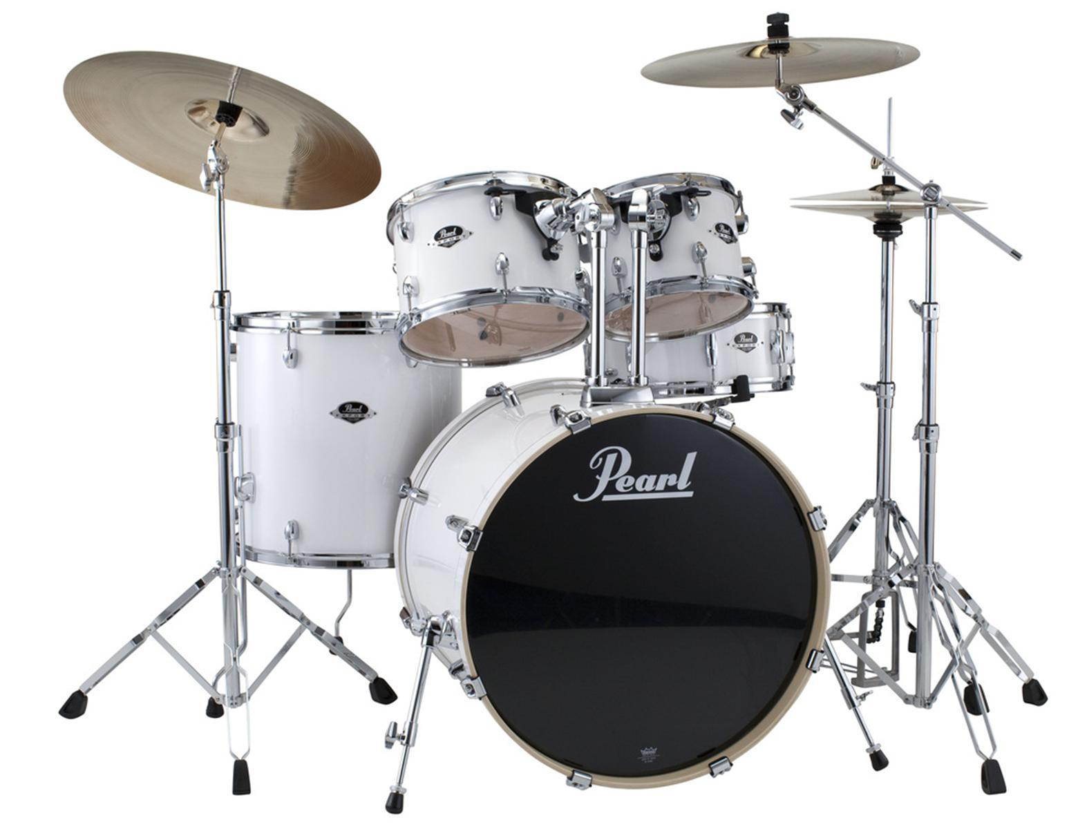 Pearl Export Series 5-Piece Drum Set with Hardware in Pu...