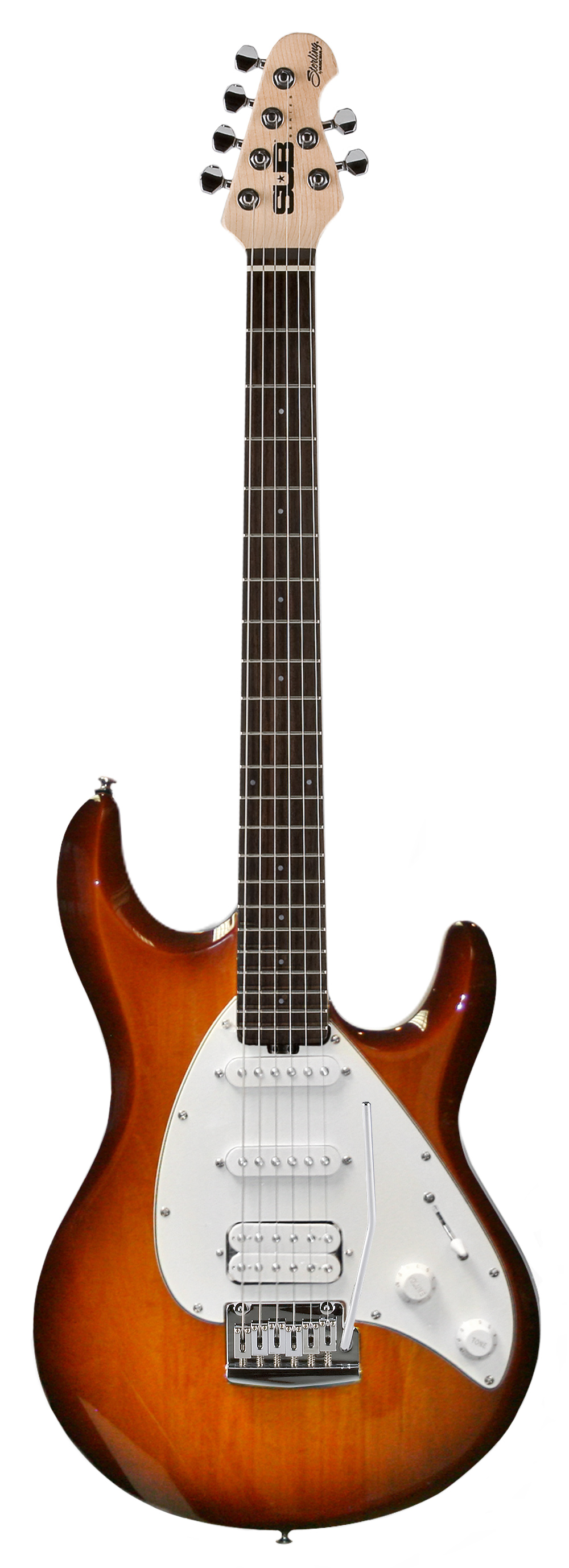 sterling by music man sub silo3 electric guitar in tobac. Black Bedroom Furniture Sets. Home Design Ideas