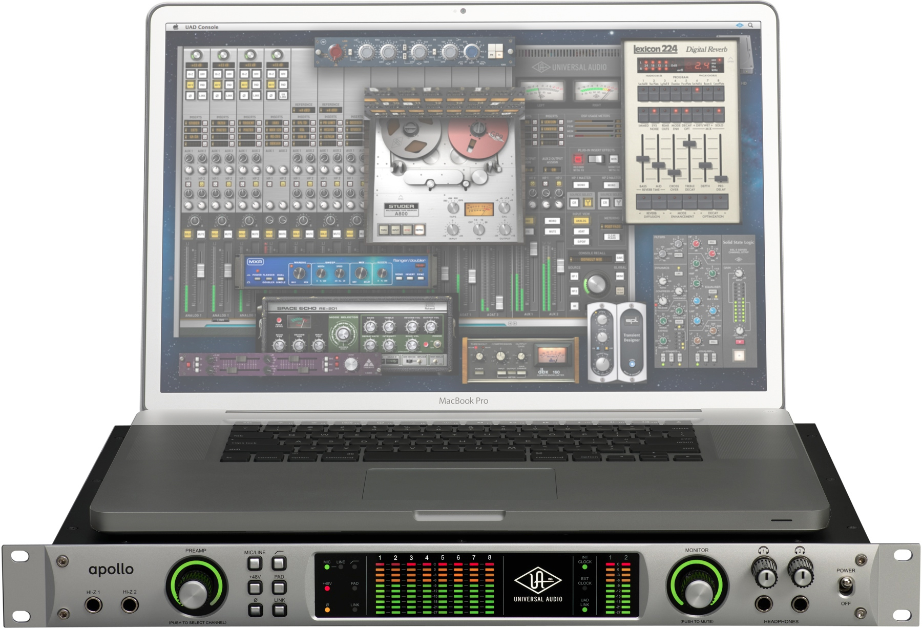 Pro Tools with UAD Apollo (page 3) - Pics about space