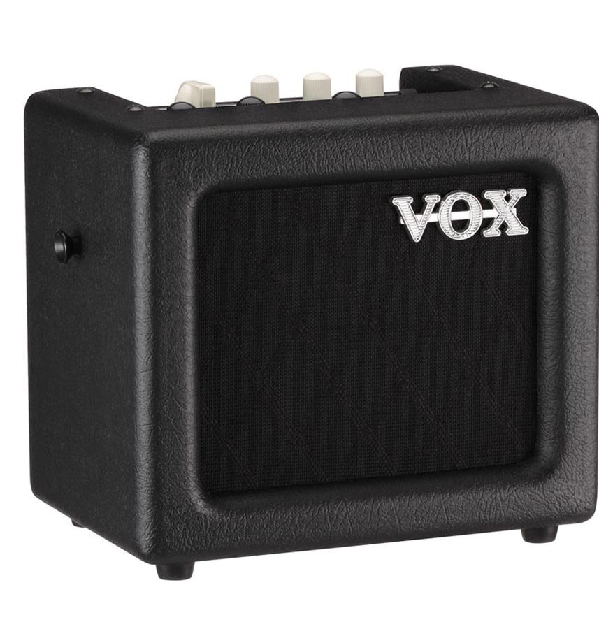vox mini3g2bk portable modeling guitar amplifier in black