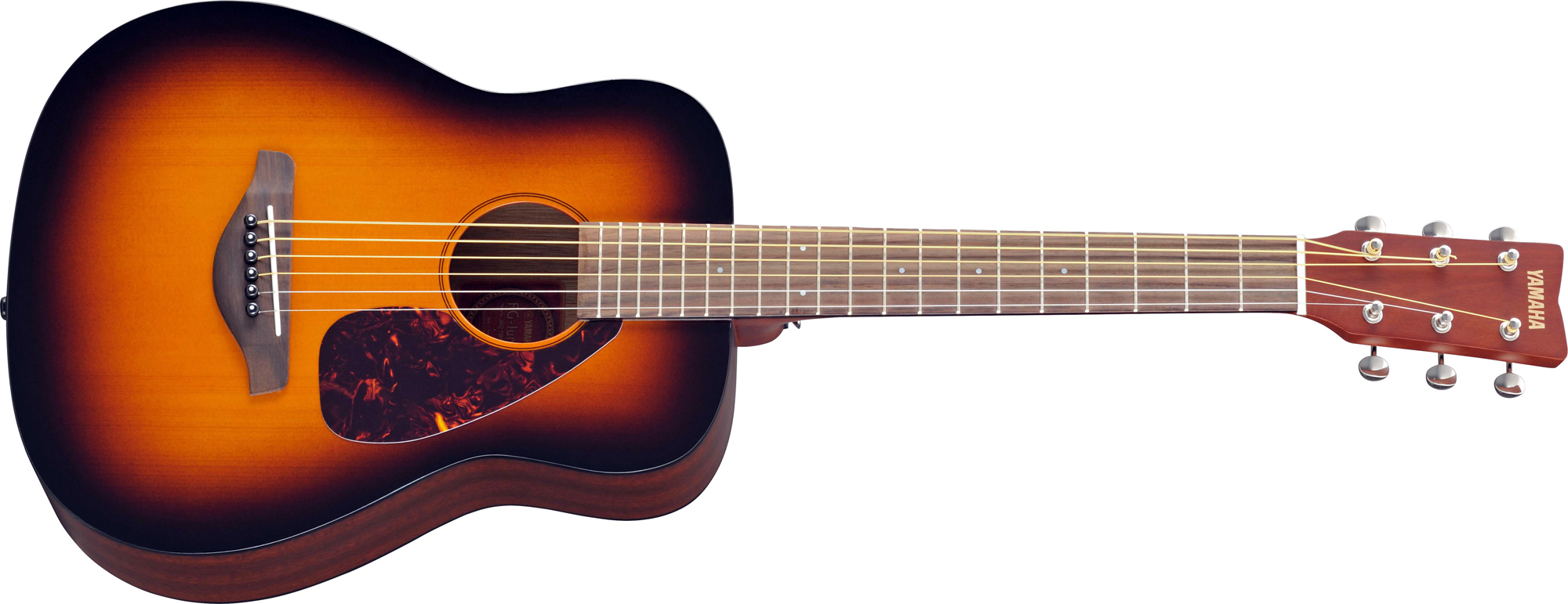 Yamaha jr2tbs 3 4 junior acoustic guitar in tobacco sunburst for New yamaha acoustic guitars