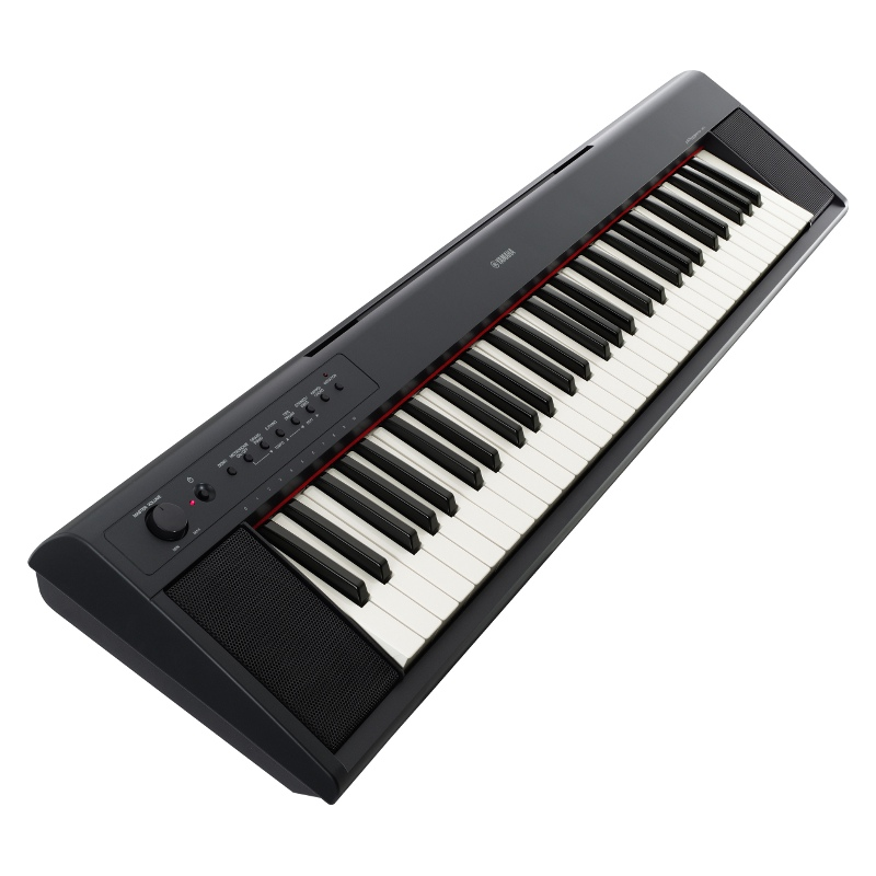Yamaha np11 piaggero 61 key portable keyboard for Yamaha piano keyboard models