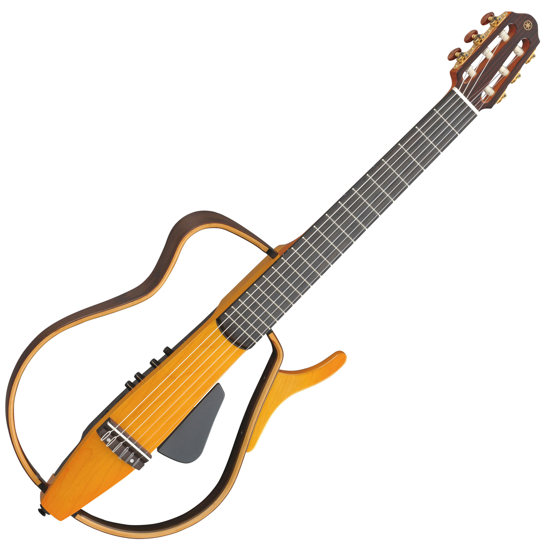 Yamaha slg130nw nylon string silent guitar light amber burst for Yamaha silent guitar slg130nw
