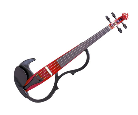 Yamaha sv200kred silent violin in cardinal red instrumen for Yamaha vc5 cello review