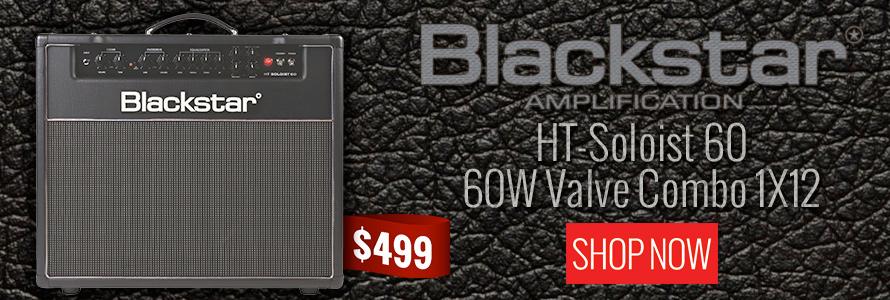 Blackstar HT-Soloist HTSolo60C 60 60W Valve Combo 1X12