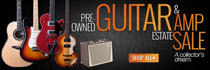 Used Guitar & Amp Estate Sale