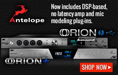 Antelope Audio Orion Interfaces