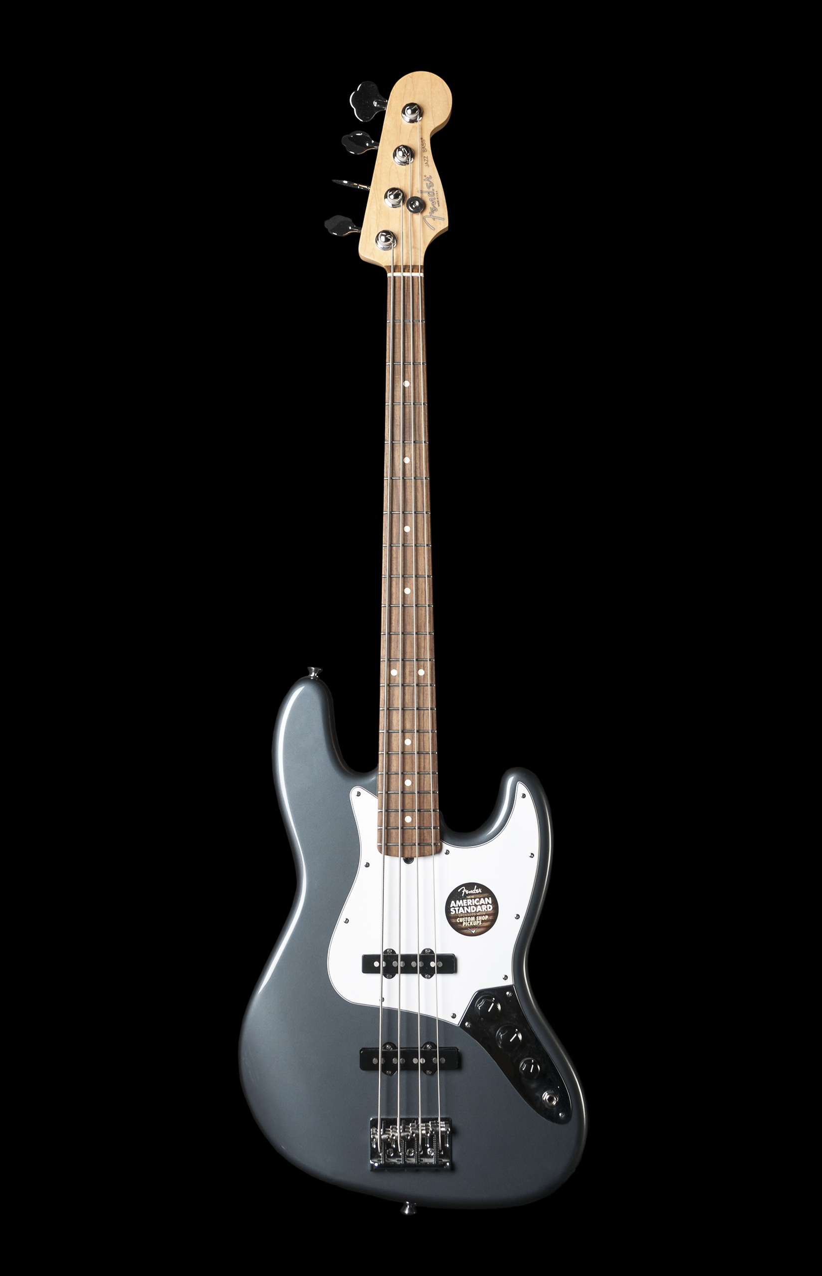 Fender American Standard 4 String Jazz Bass in Charcoal