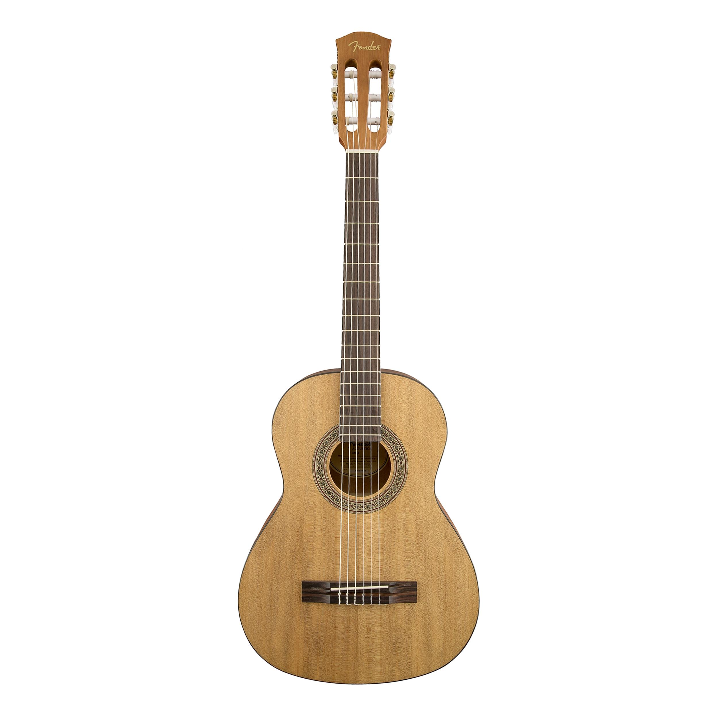 fender mc1 mini 3 4 size nylon string classical guitar ebay. Black Bedroom Furniture Sets. Home Design Ideas