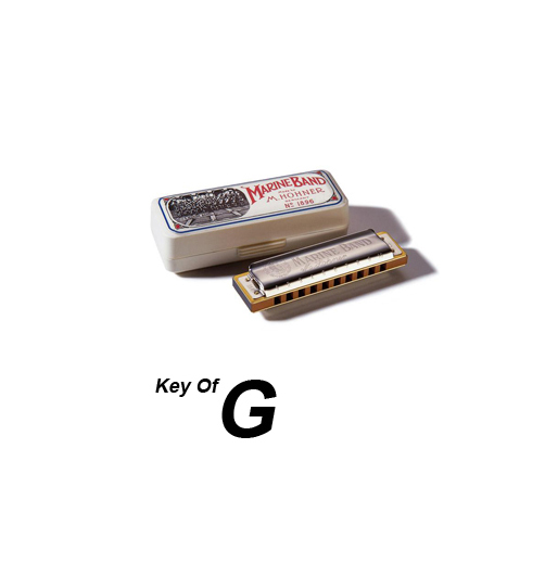 Hohner Marine Band Harmonica Key of G : eBay