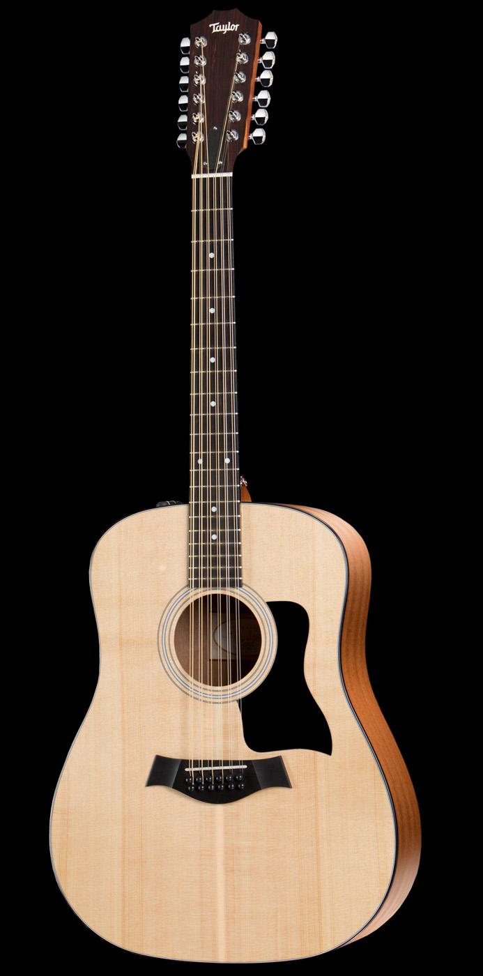taylor 150e 12 string dreadnought acoustic electric guitar ebay