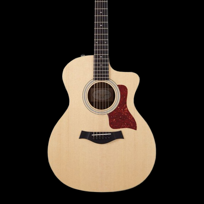 taylor 214ce deluxe grand auditorium acoustic electric guitar with case. Black Bedroom Furniture Sets. Home Design Ideas