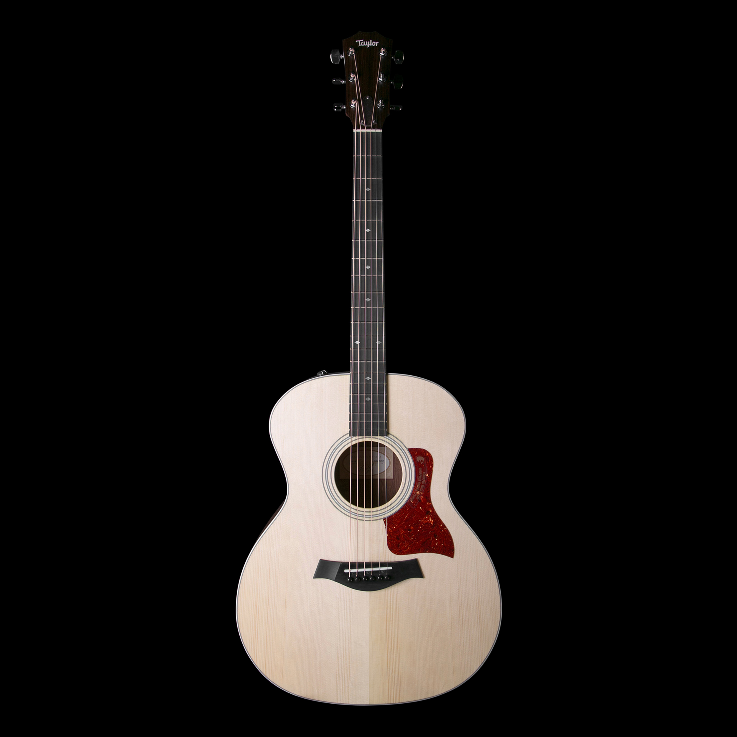 taylor 214e dlx grand auditorium acoustic electric guitar w case ebay. Black Bedroom Furniture Sets. Home Design Ideas