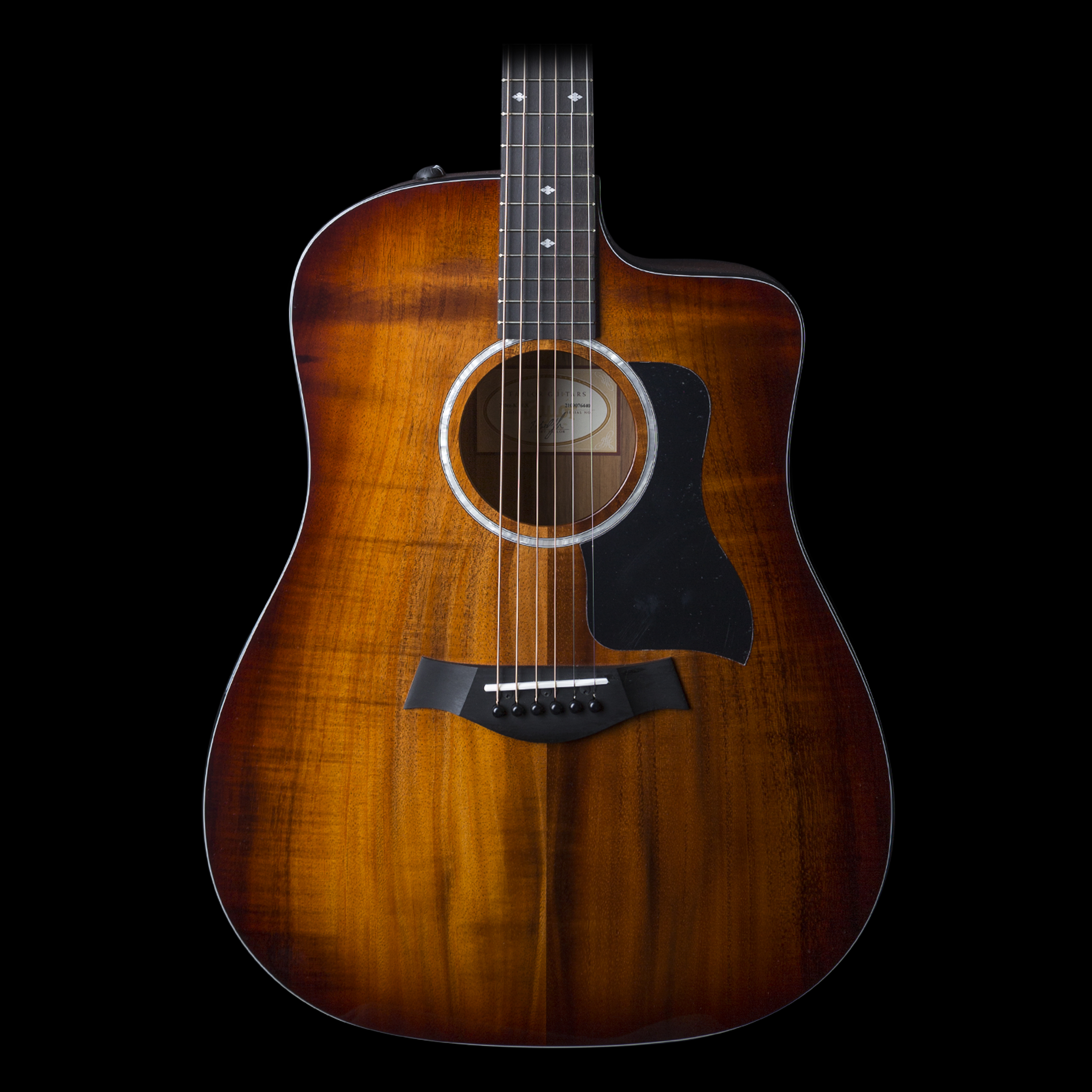 taylor 220ce koa deluxe dreadnought acoustic electric guitar ebay. Black Bedroom Furniture Sets. Home Design Ideas