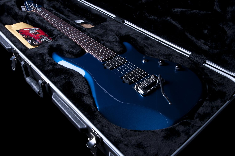ernie ball music man jp6 john petrucci signature electric guitar in blue pearl ebay. Black Bedroom Furniture Sets. Home Design Ideas