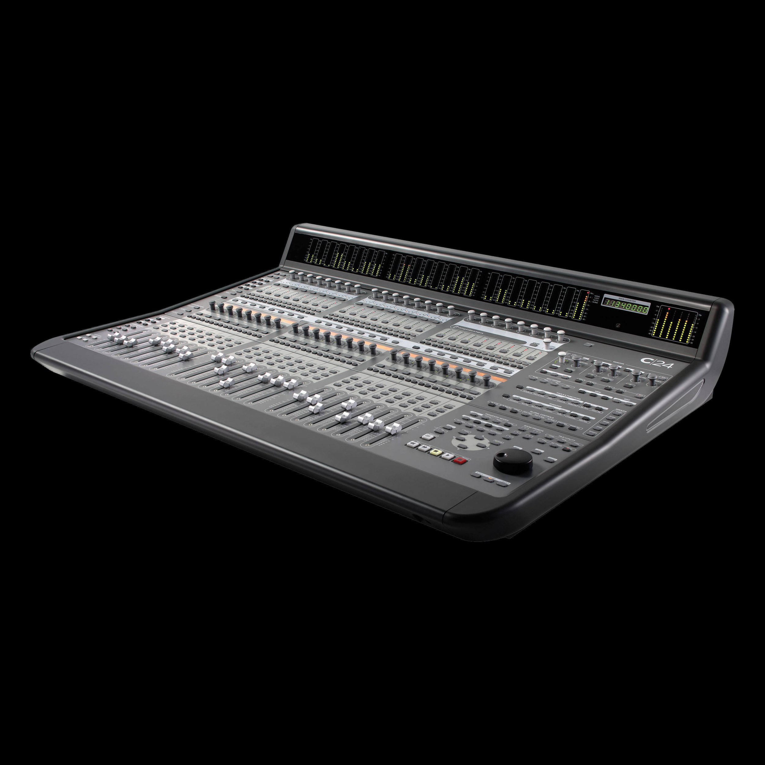 Digidesign avid c24 control surface 724643106485 ebay for Firewire mixer motorized faders