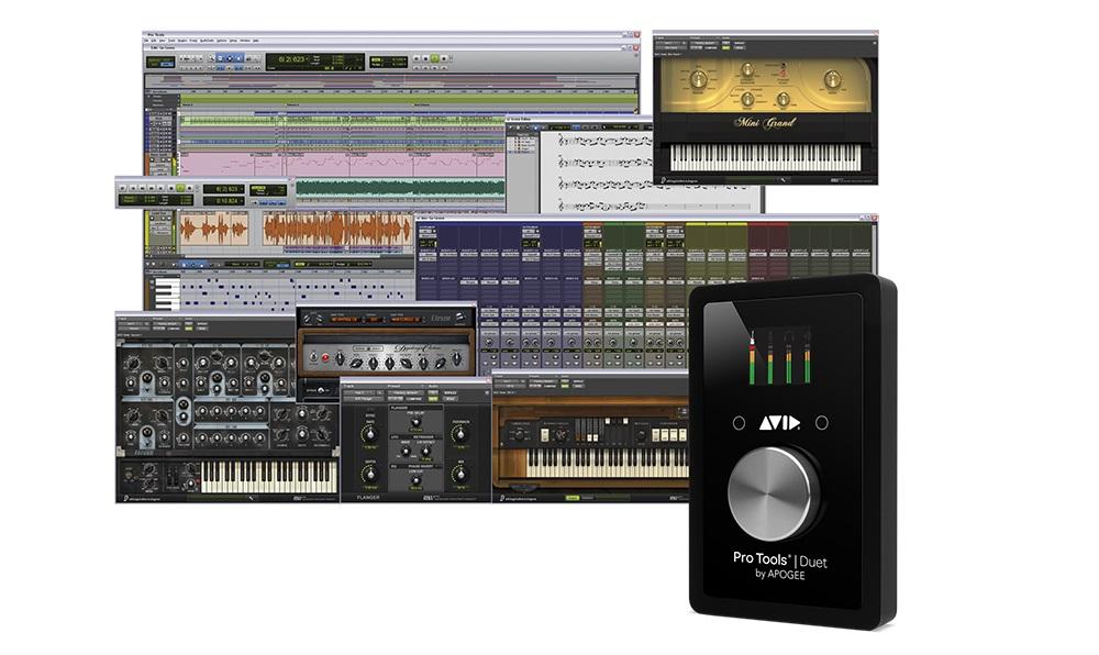 avid pro tools apogee duet audio interface daw software ebay. Black Bedroom Furniture Sets. Home Design Ideas