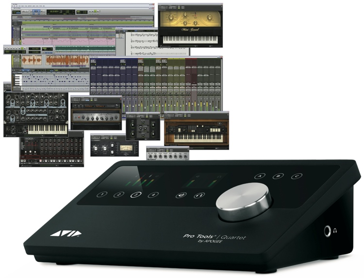 apogee quartet audio interface software daw w full pro tools license. Black Bedroom Furniture Sets. Home Design Ideas