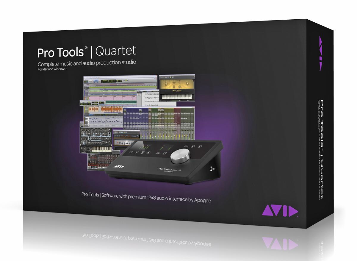 apogee quartet audio interface software daw w full pro tools license ebay. Black Bedroom Furniture Sets. Home Design Ideas