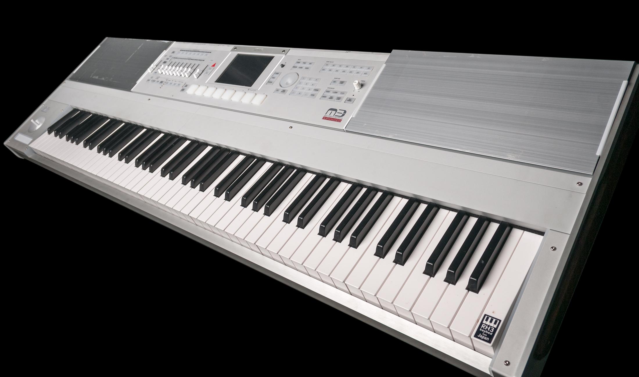 used korg m3 88 music workstation keyboard ebay. Black Bedroom Furniture Sets. Home Design Ideas