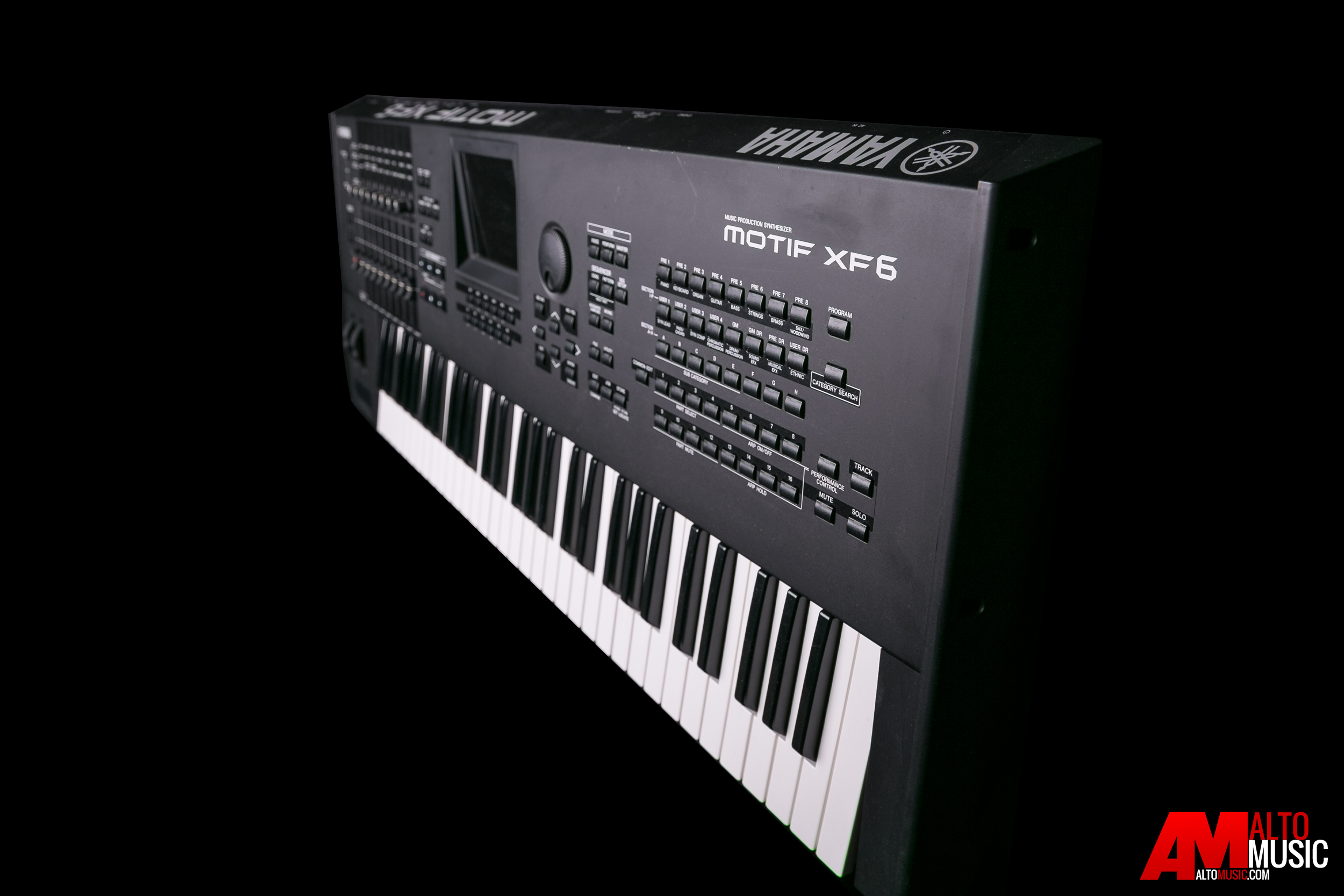 yamaha motif xf6 61 key synthesizer workstation preowned excellent condition ebay. Black Bedroom Furniture Sets. Home Design Ideas